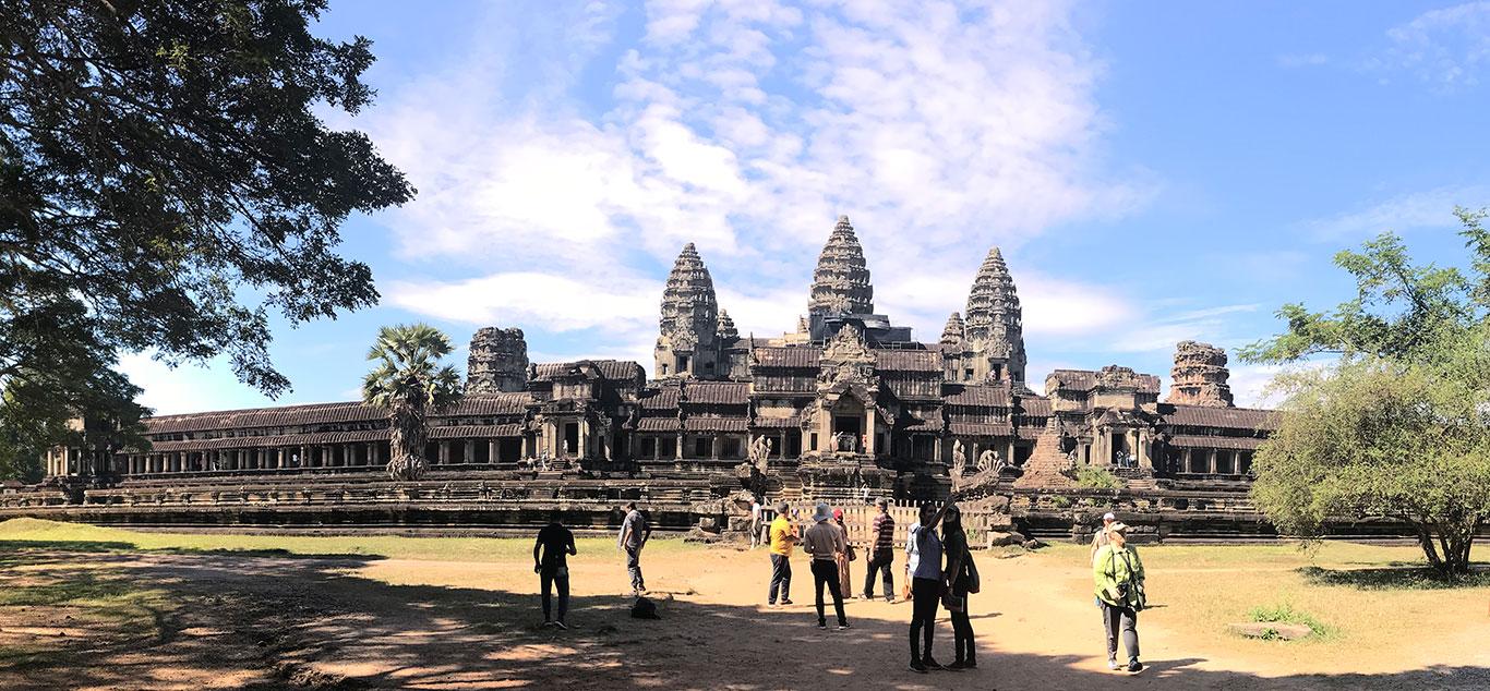 Angkor Wat Temple, Near Siem Reap, Cambodia.