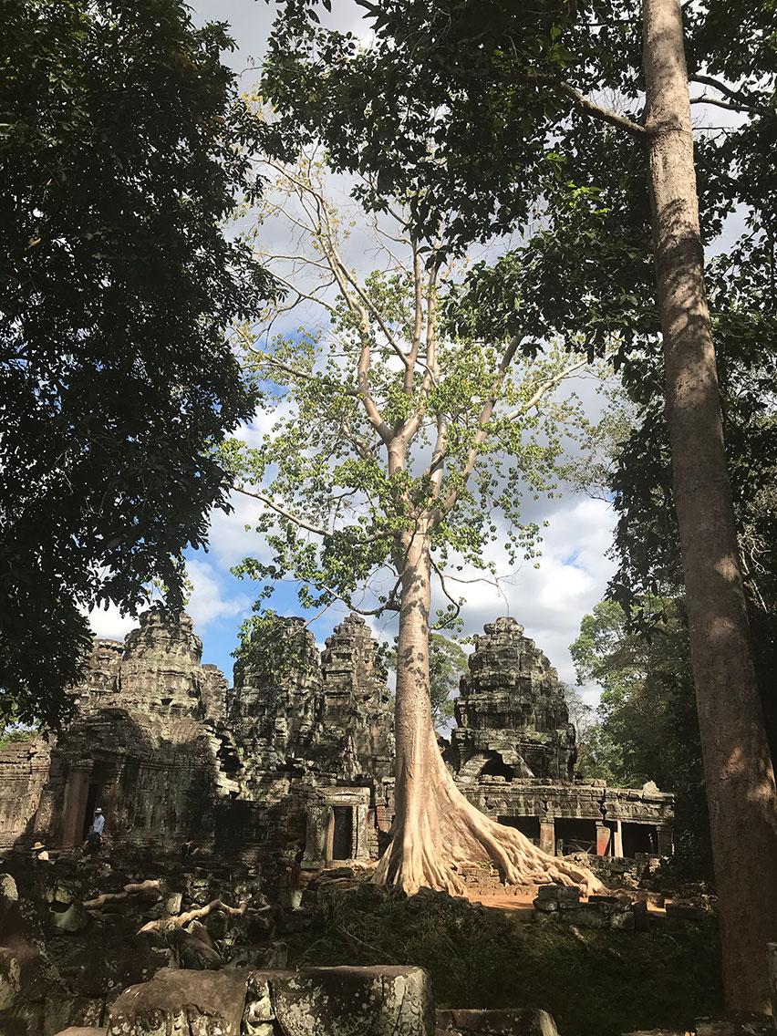 Banteay Kdei Temple, Near Siem Reap, Cambodia.