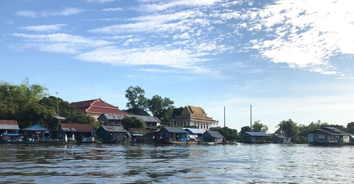 Prek Toal floating village, Tonle Sap Lake, Cambodia.