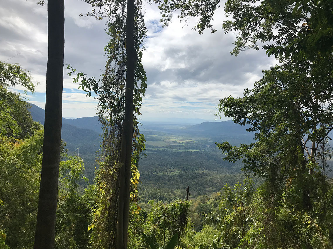 View on the way down from Mount Aural, Cardamom Mountains, Cambodia.