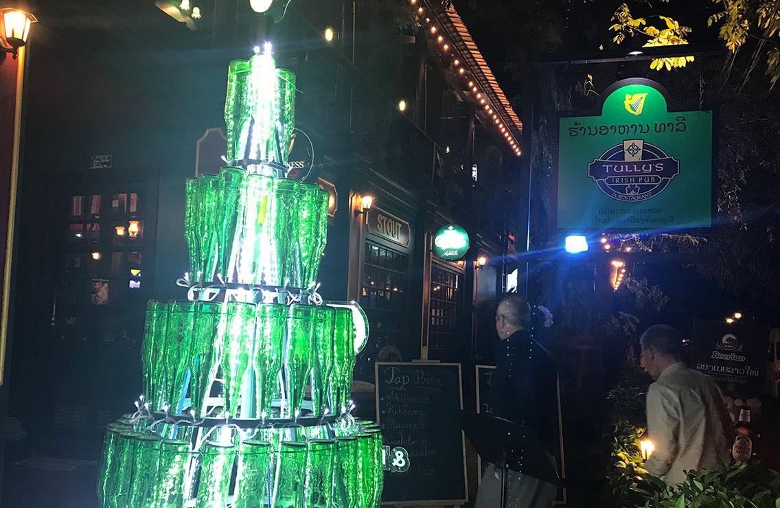 Tully's Irish Pub, Vientiane, Laos.