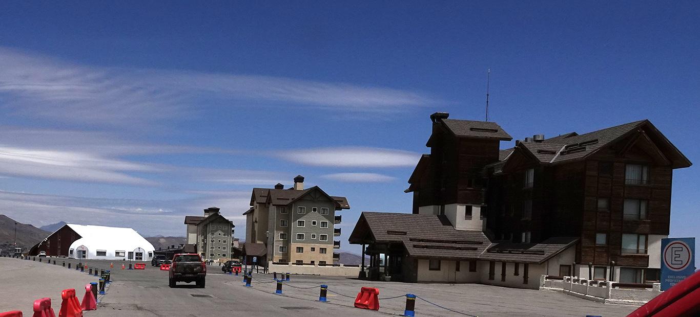 Valle Nevado Ski Resort, Valle Nevado, Chile.