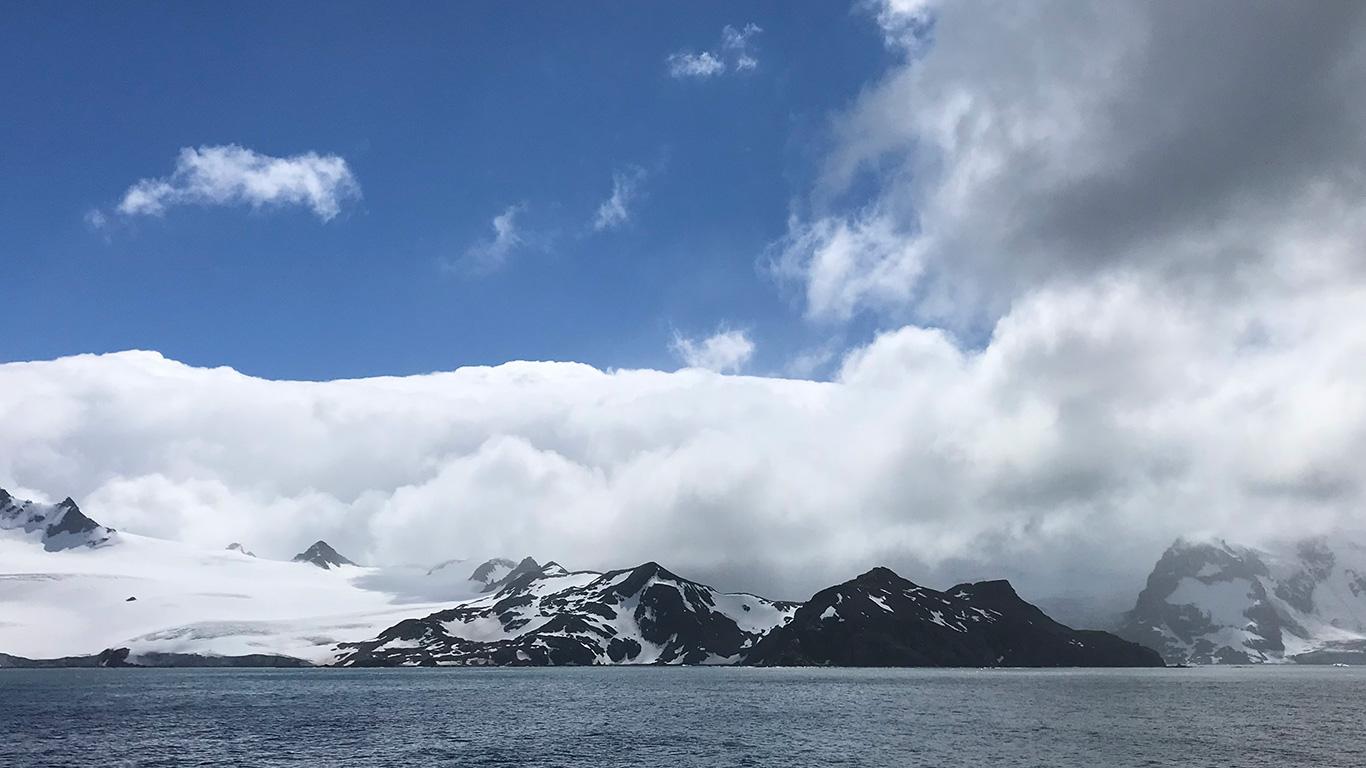 Elephant Island, Bransfield Strait, Antarctica.