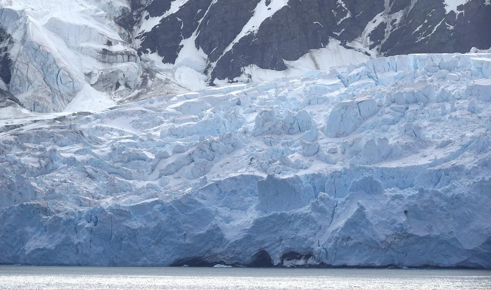 Glacier, South Shetland Islands, Antarctica.