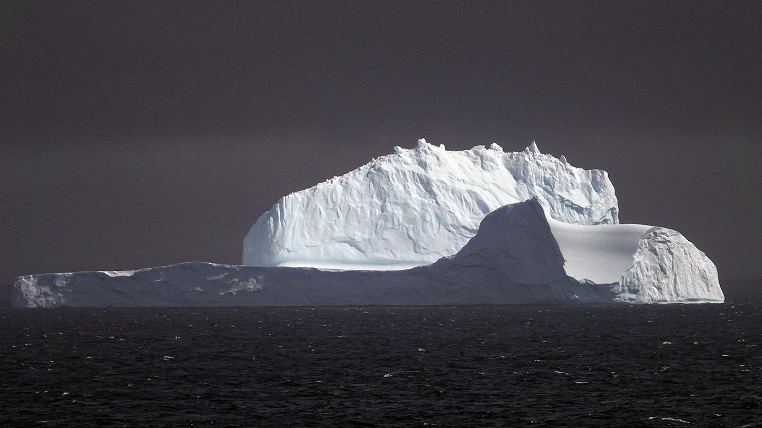 Iceberg, Bransfield Strait, Antarctica.