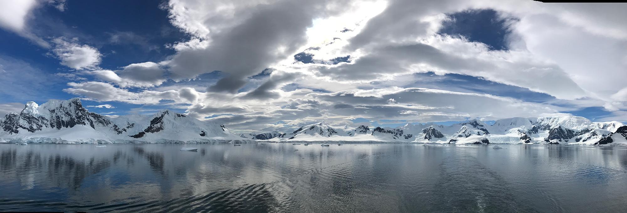 Paradise Harbour, Gerlache Strait, Antarctica.
