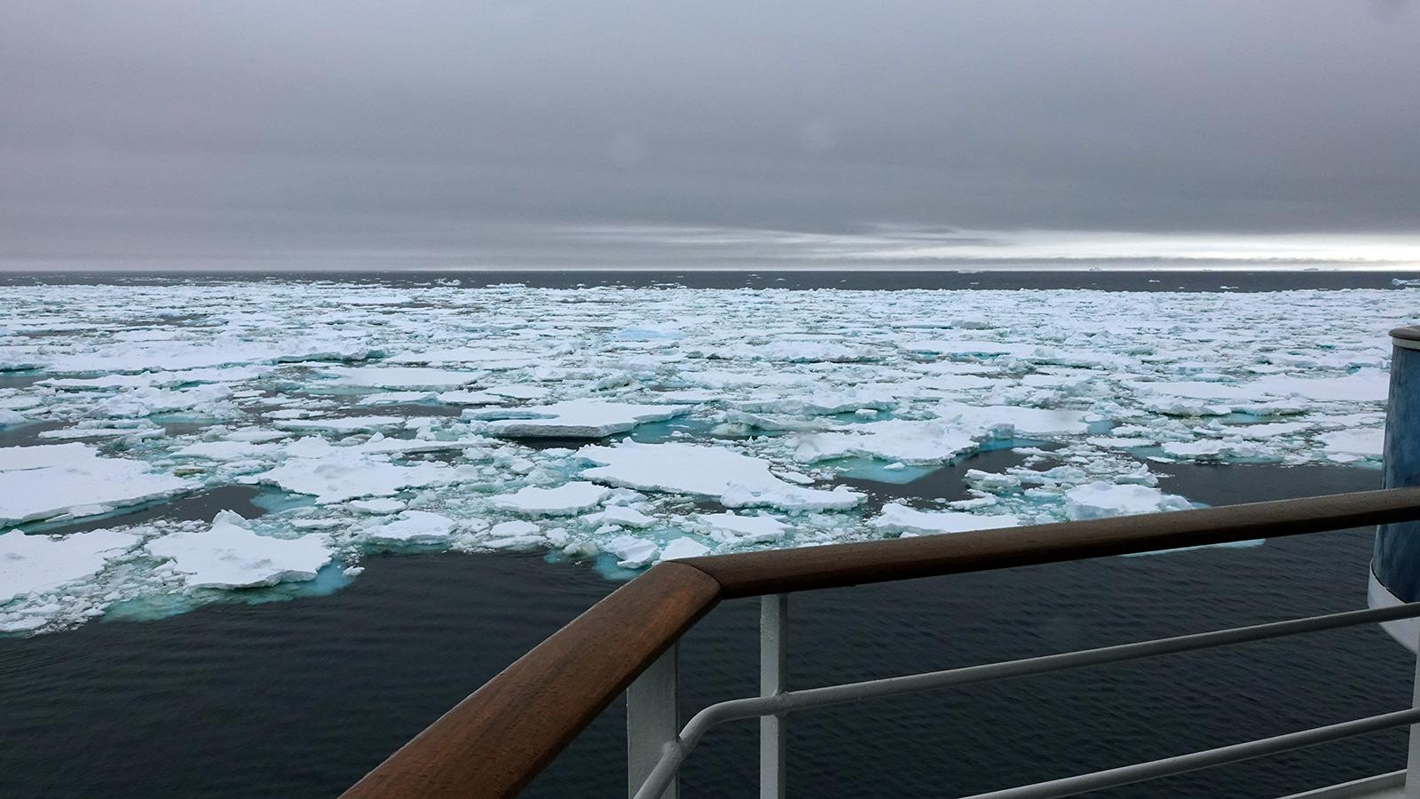Sea Ice, South Shetland Islands, Antarctica.