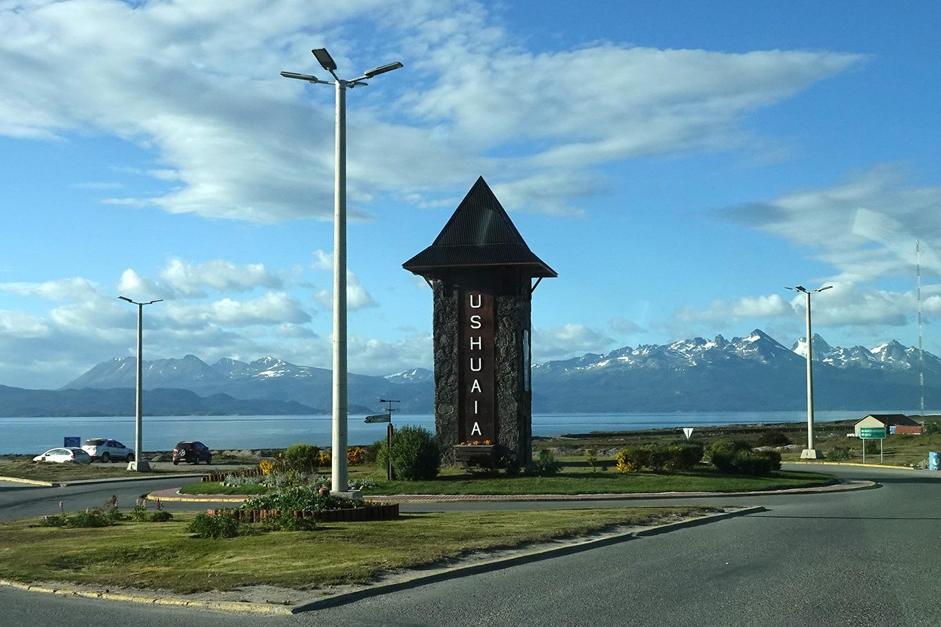 View of Ushuaia, Ushuaia, Argentina.